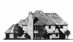 Traditional Style House Plans Plan: 8-1066