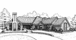 Traditional Style Floor Plans Plan: 8-1077