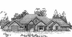 Traditional Style House Plans Plan: 8-1086