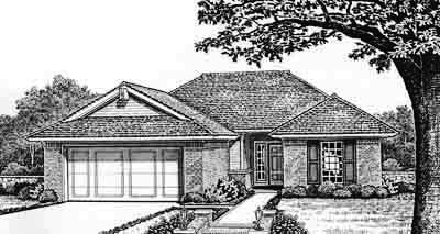 Traditional Style Floor Plans Plan: 8-109
