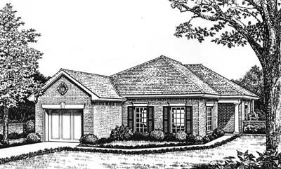 Traditional Style House Plans Plan: 8-110