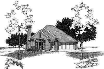 Traditional Style Floor Plans Plan: 8-111