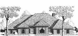 Traditional Style Floor Plans Plan: 8-1111