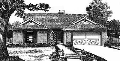 Ranch Style House Plans Plan: 8-112