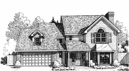 Country Style House Plans Plan: 8-1124