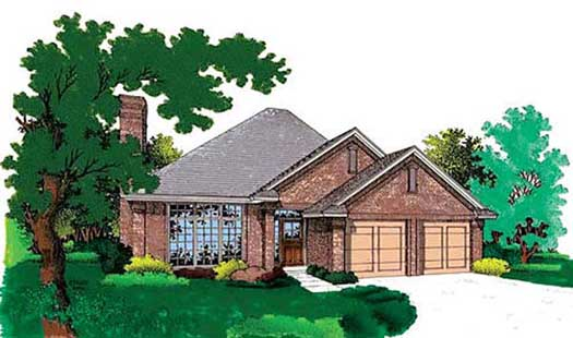 Traditional Style House Plans Plan: 8-113