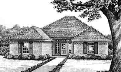 Traditional Style Floor Plans Plan: 8-115