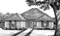 Traditional Style House Plans Plan: 8-115