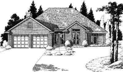 Traditional Style Floor Plans Plan: 8-116