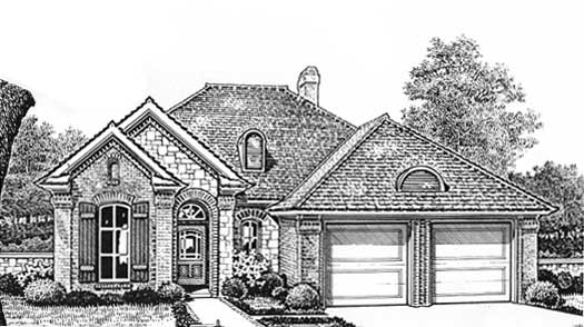 Traditional Style Floor Plans Plan: 8-120