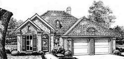 Traditional Style Home Design Plan: 8-120