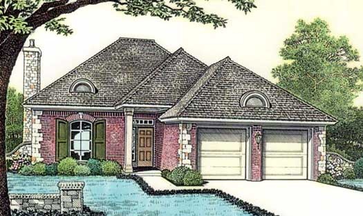 European Style Floor Plans Plan: 8-122