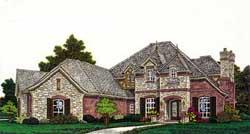 European Style House Plans Plan: 8-1226