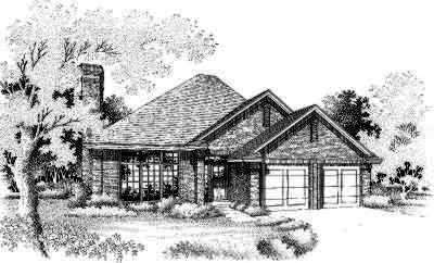 Traditional Style Floor Plans 8-124