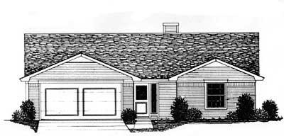Ranch Style Floor Plans Plan: 8-126