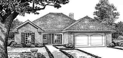 Traditional Style House Plans Plan: 8-129
