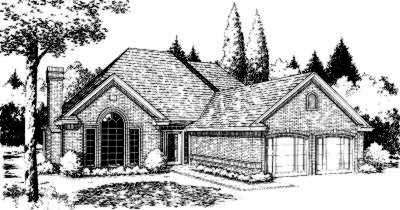Traditional Style Floor Plans Plan: 8-133