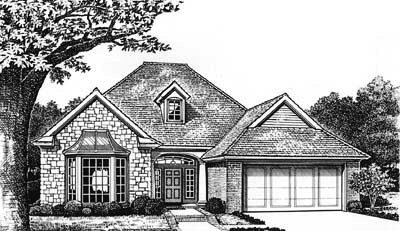 Traditional Style House Plans Plan: 8-136