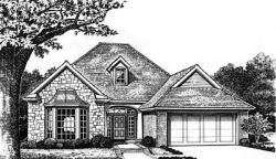 Traditional Style Floor Plans Plan: 8-136