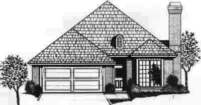 Traditional Style Floor Plans Plan: 8-138