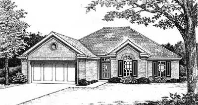Traditional Style House Plans Plan: 8-139