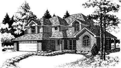 Traditional Style Floor Plans Plan: 8-140