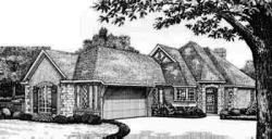 English-Country Style House Plans Plan: 8-141