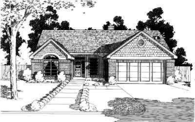 Traditional Style Floor Plans Plan: 8-148