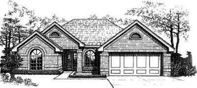 Traditional Style Floor Plans Plan: 8-151