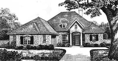 Traditional Style Floor Plans 8-161
