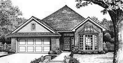 Traditional Style Floor Plans Plan: 8-162