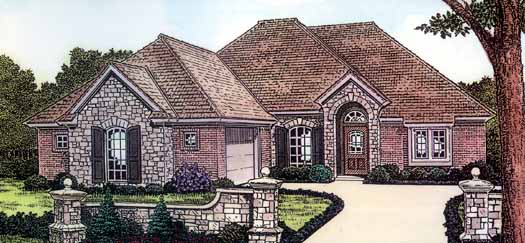 Traditional Style House Plans Plan: 8-165