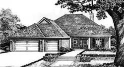 Traditional Style House Plans Plan: 8-166