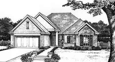 Traditional Style House Plans Plan: 8-167