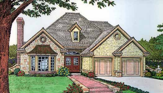 Traditional Style House Plans Plan: 8-170
