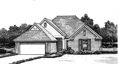 Traditional Style Floor Plans Plan: 8-172