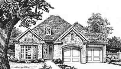 Traditional Style Floor Plans Plan: 8-178