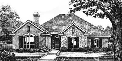 Traditional Style Floor Plans Plan: 8-180