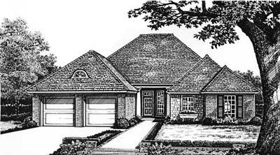 Traditional Style House Plans Plan: 8-181