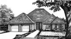 Traditional Style Home Design Plan: 8-181