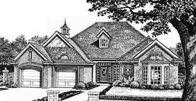 Traditional Style House Plans Plan: 8-190