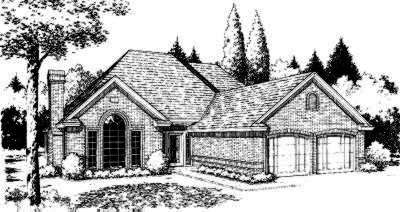 Traditional Style Floor Plans Plan: 8-191