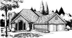 Traditional Style Home Design Plan: 8-191