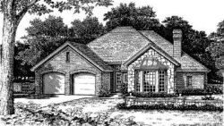 Traditional Style Floor Plans Plan: 8-193