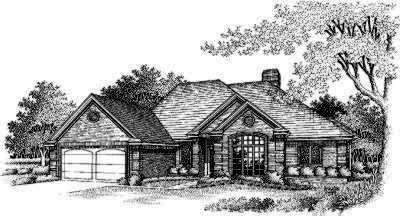 Traditional Style House Plans Plan: 8-202