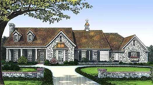 Ranch Style Floor Plans Plan: 8-203