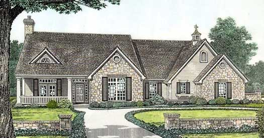 Ranch Style Floor Plans Plan: 8-207