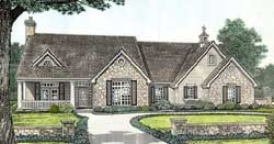Ranch Style House Plans Plan: 8-207