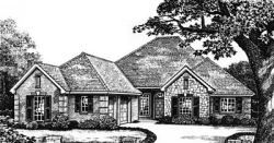 Traditional Style Floor Plans Plan: 8-208