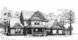 Farm Style House Plans Plan: 8-209